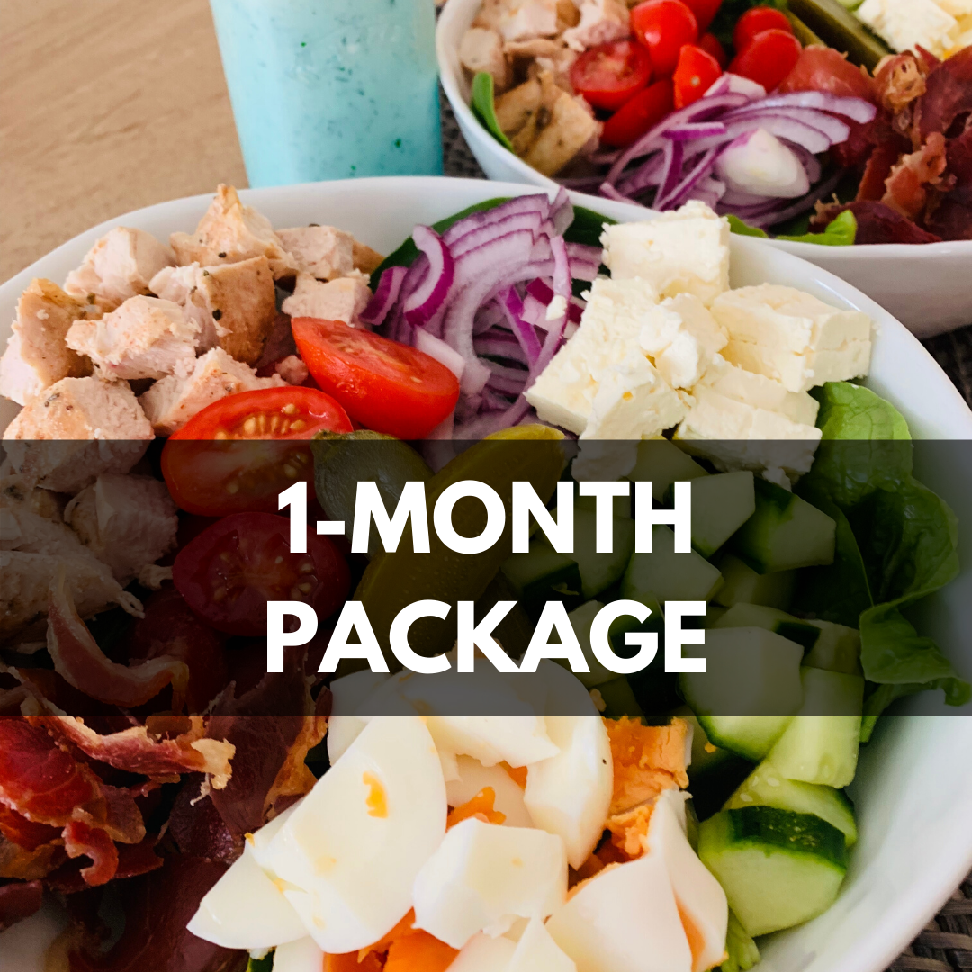 1 month nutrition consultation package