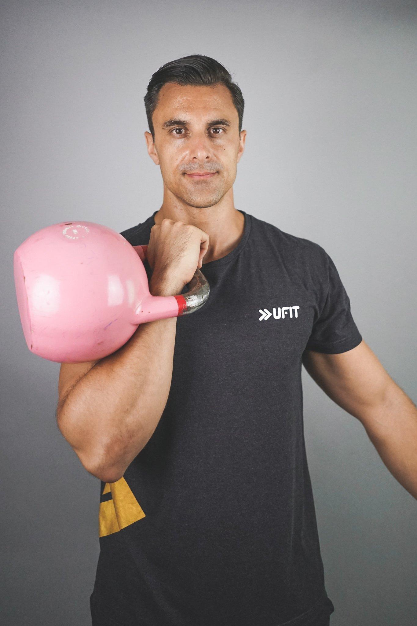 Daniel De Sanctis Personal Trainer Kettlebell expert