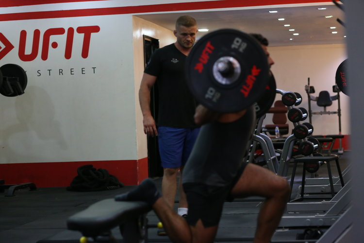 SIGN UP FOR A PERSONAL TRAINING SESSION WITH UFIT