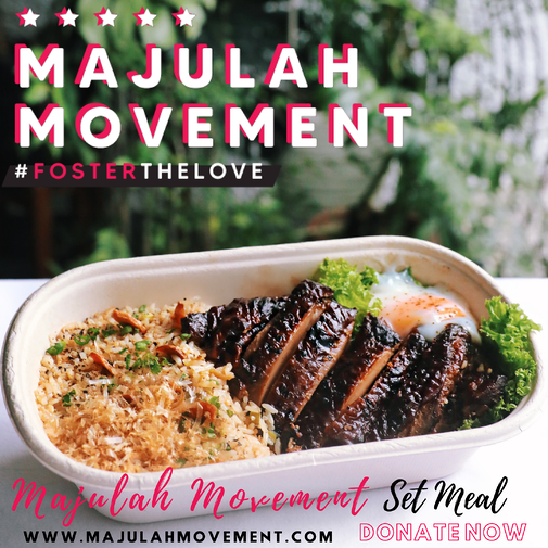 Majulah Movement - Set Meal