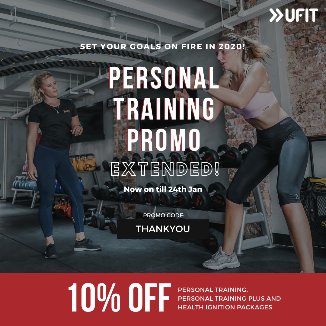 Personal Training Promotion at UFIT Singapore