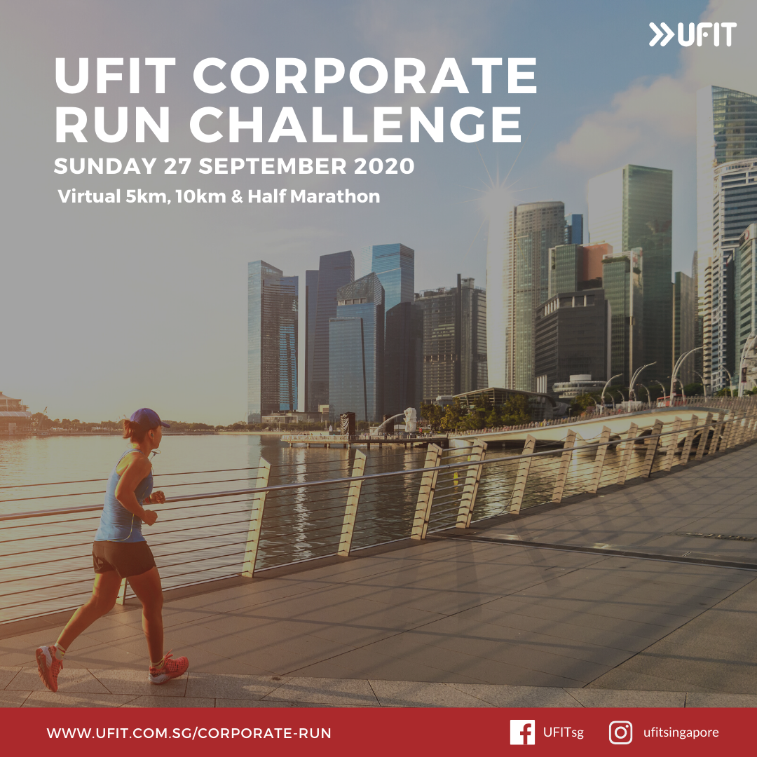 UFIT Corporate Run Challenge Square Visual