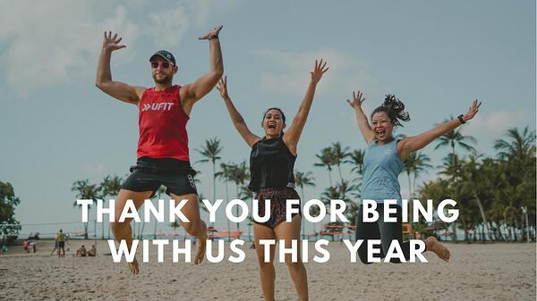 Thank you for being with us in 2020