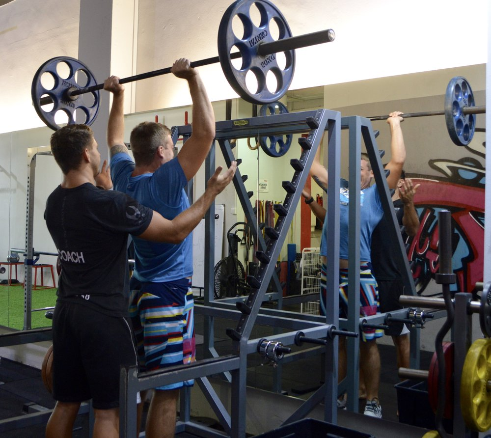 Amoy Personal Training Overhead