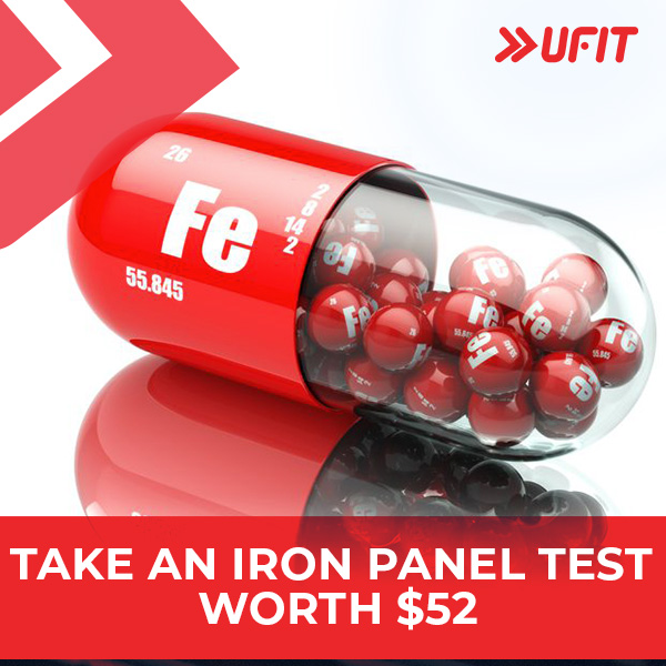 THE IRON SUITES  is offering an iron panel test (worth SGD 52) to the first 400 sign-ups from the UFIT Community!