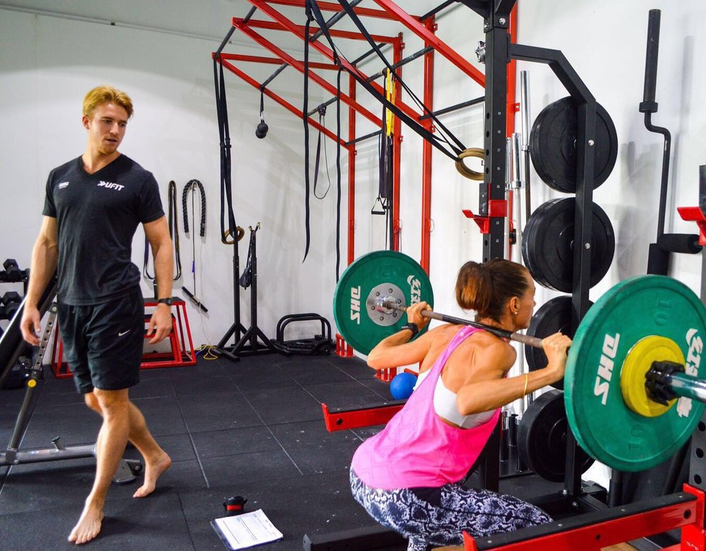 One North Personal Training Squat Rack