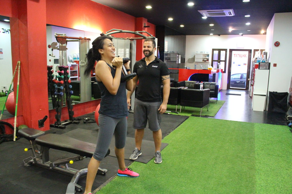 Amoy Personal Training with Nathan