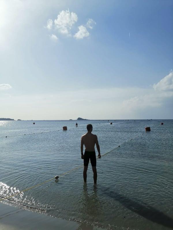 Dave Lee Triathlon Swim