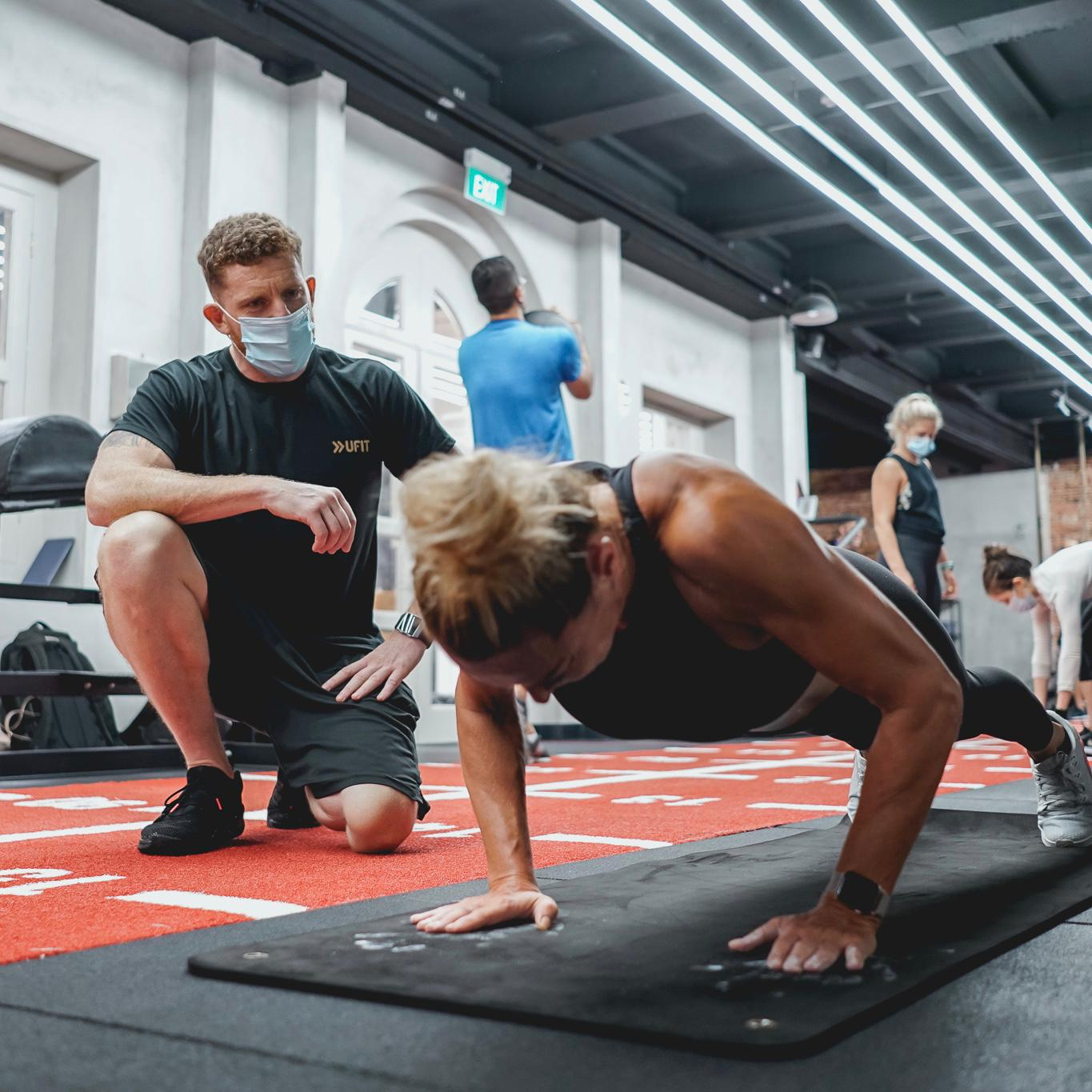 PT Sessions at UFIT Health and Fitness Club Street Gym