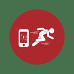 corporate run step 4 icon