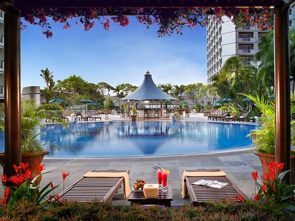 Fairmont Hotel Poolside