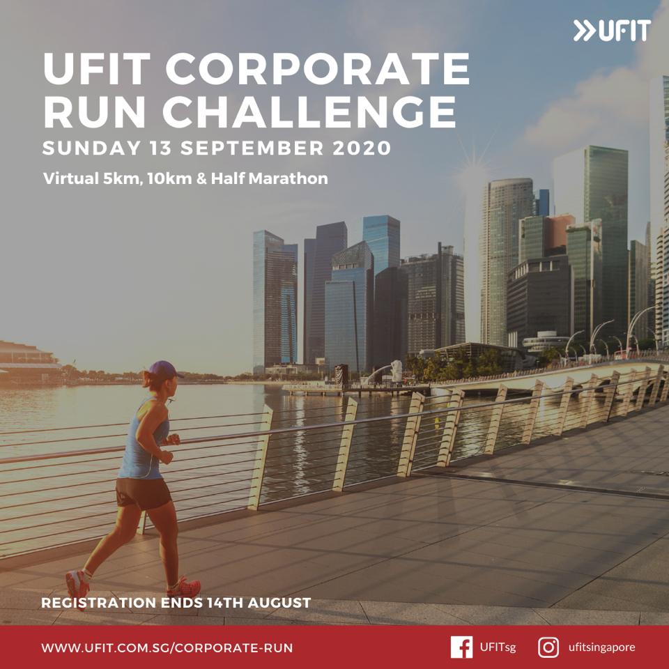 UFIT Corporate Run Challenge Square Visual