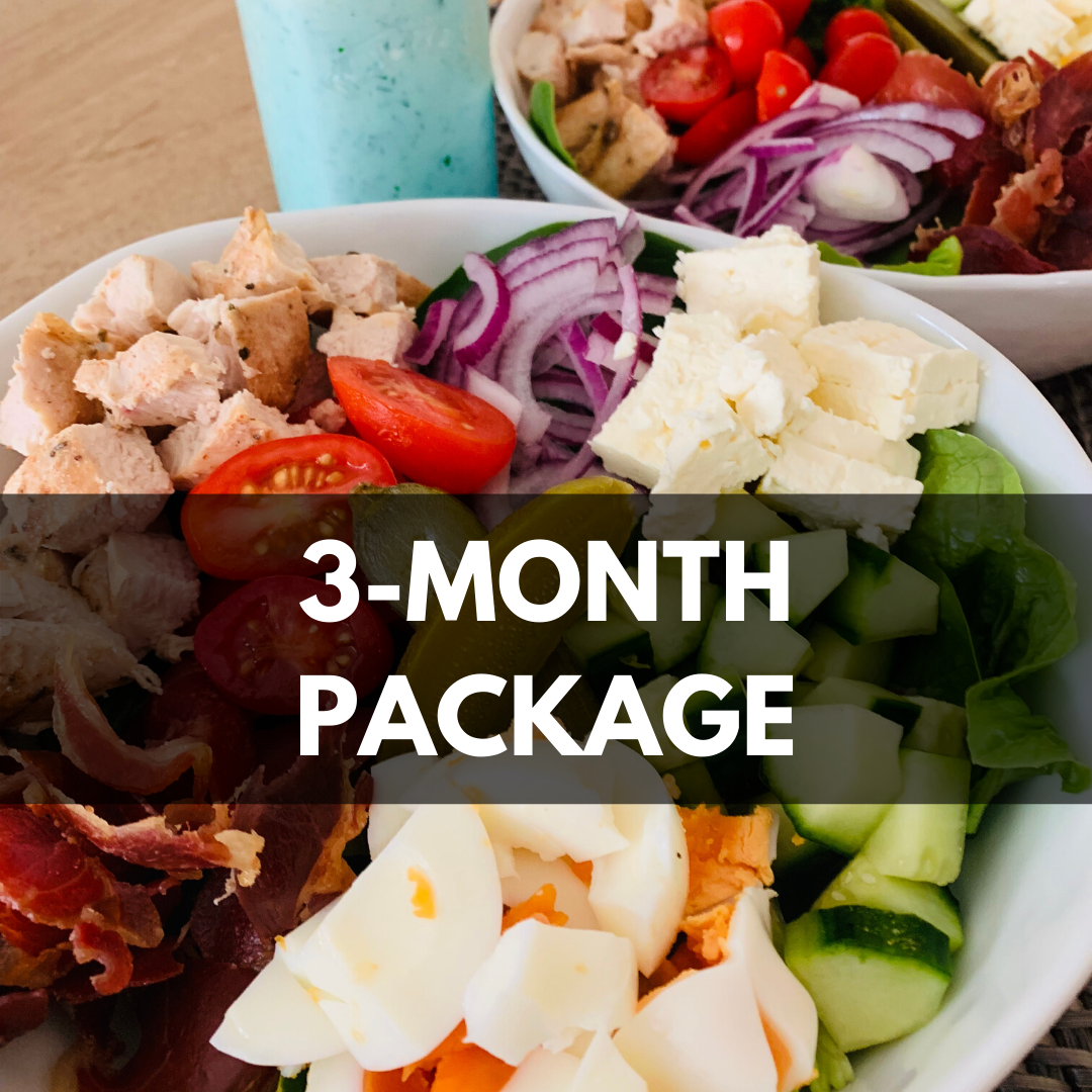 3 months nutrition consultation package