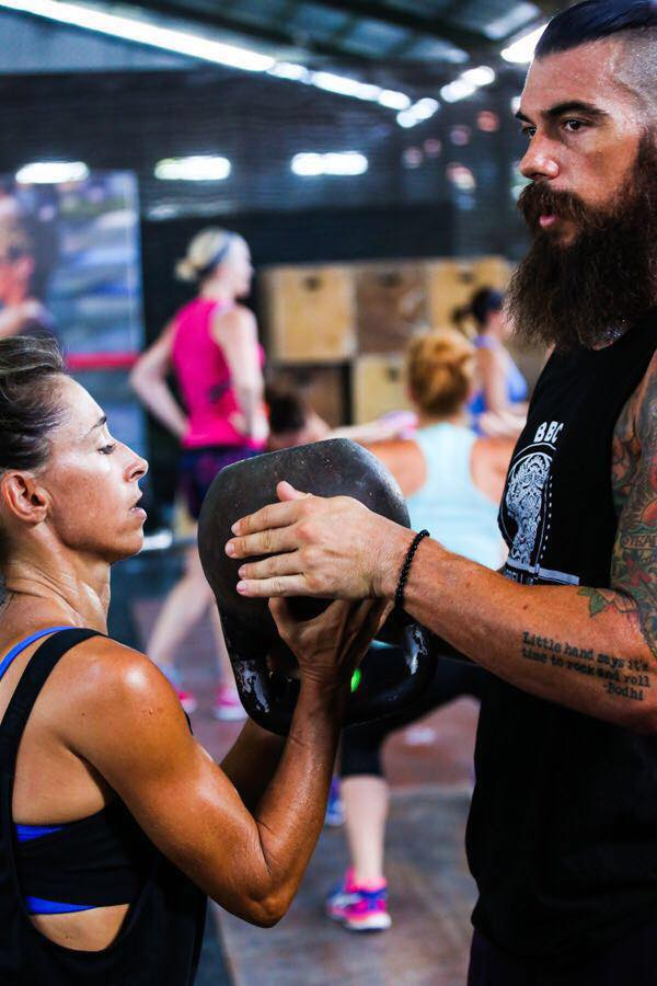 CrossFit Wanderlust workout during UFIT Bali Chickfitreat