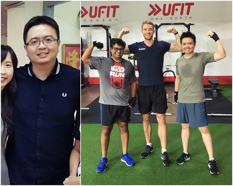 Sheer hard work and consistency led to Brandon's amazing physical transformation within 12 months of training with UFIT!