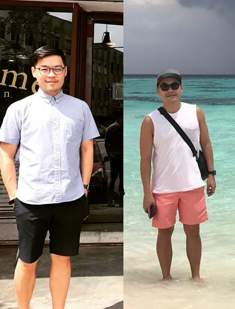 Leonard has done 3 Clean & Lean Challenges prior, but needed a lifestyle reboot after 2 years.