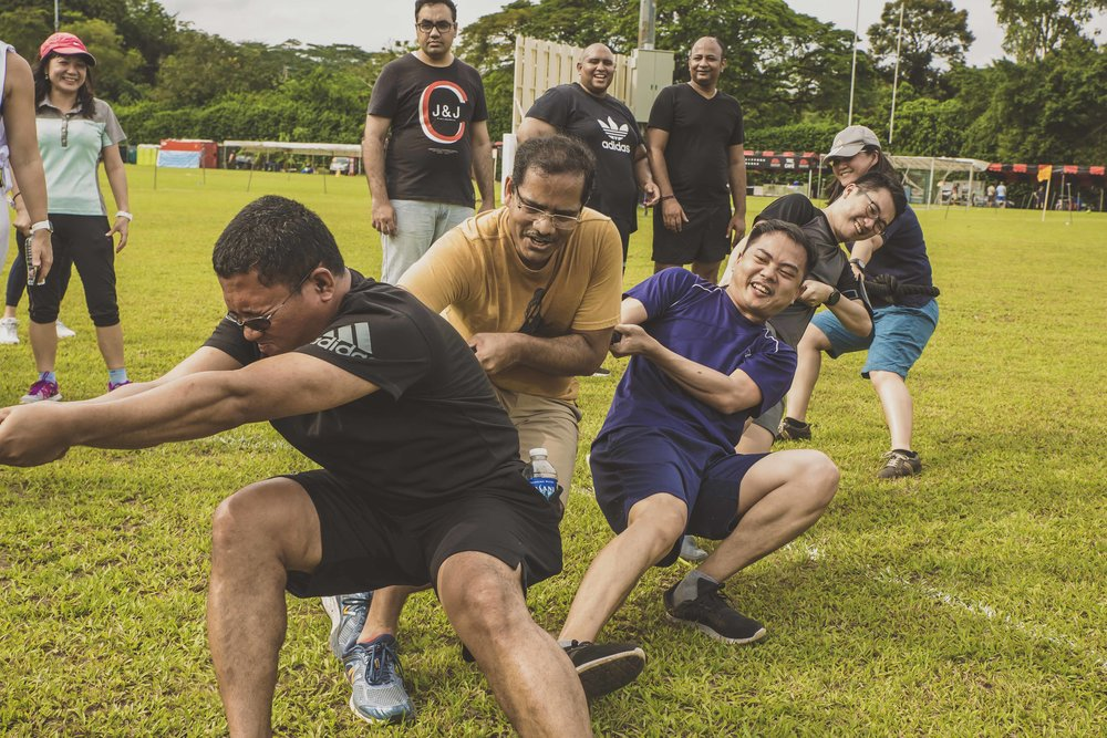 Standard Chartered team building event, CrossFit Bukit Timah