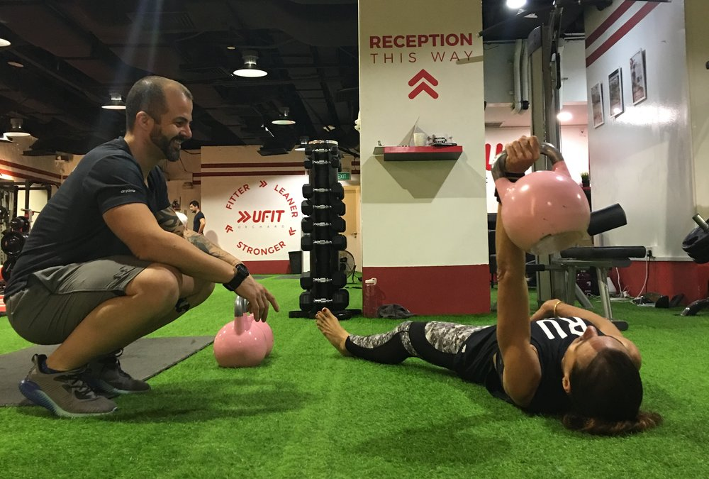 Personal Training at UFIT Orchard