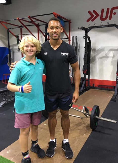 Jules got to meet and train with one of England's top pro rugby player Dan Norton at the UFIT Rugby Development Camp.
