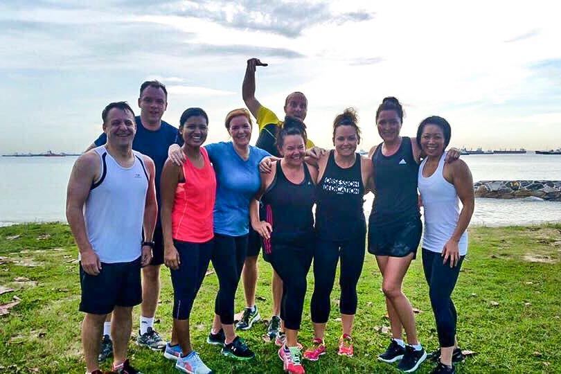 The strong and sassy East Coast UFIT Bootcamp gang.