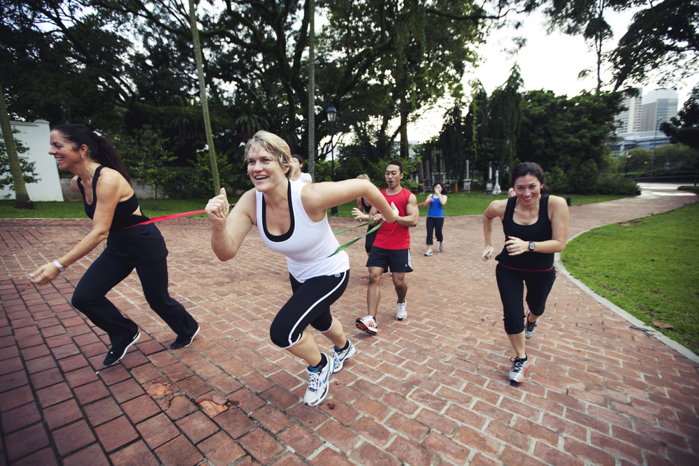 Band Sprints in Fort Canning (Blue Session)