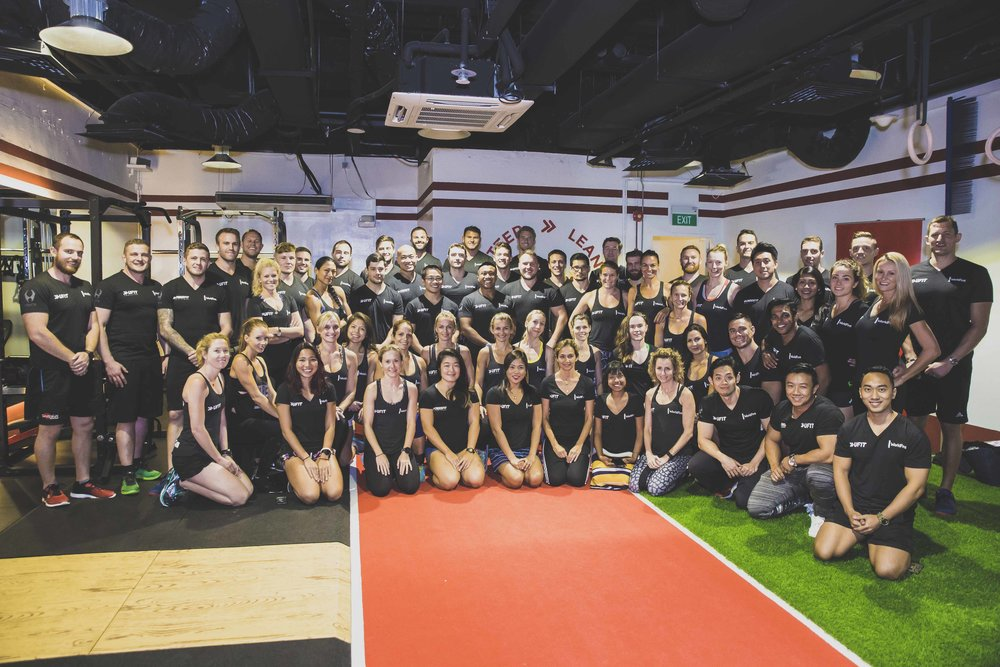 Opening of UFIT Orchard gym, with UFIT's 50 staff
