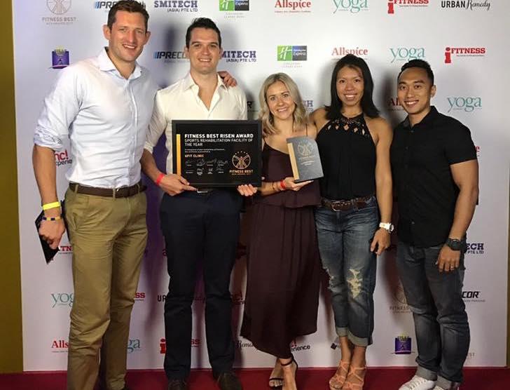 UFIT Clinic awarded Asia's Best Rehab Facility award