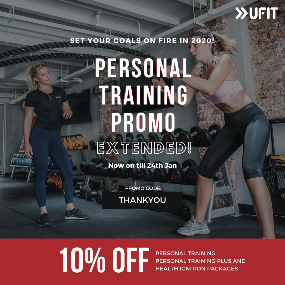 Personal Training Promo