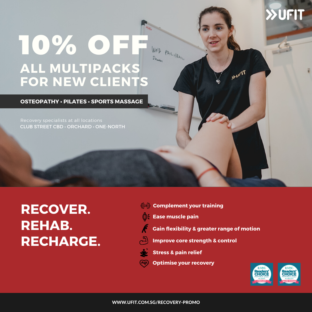 UFIT Recovery Promo
