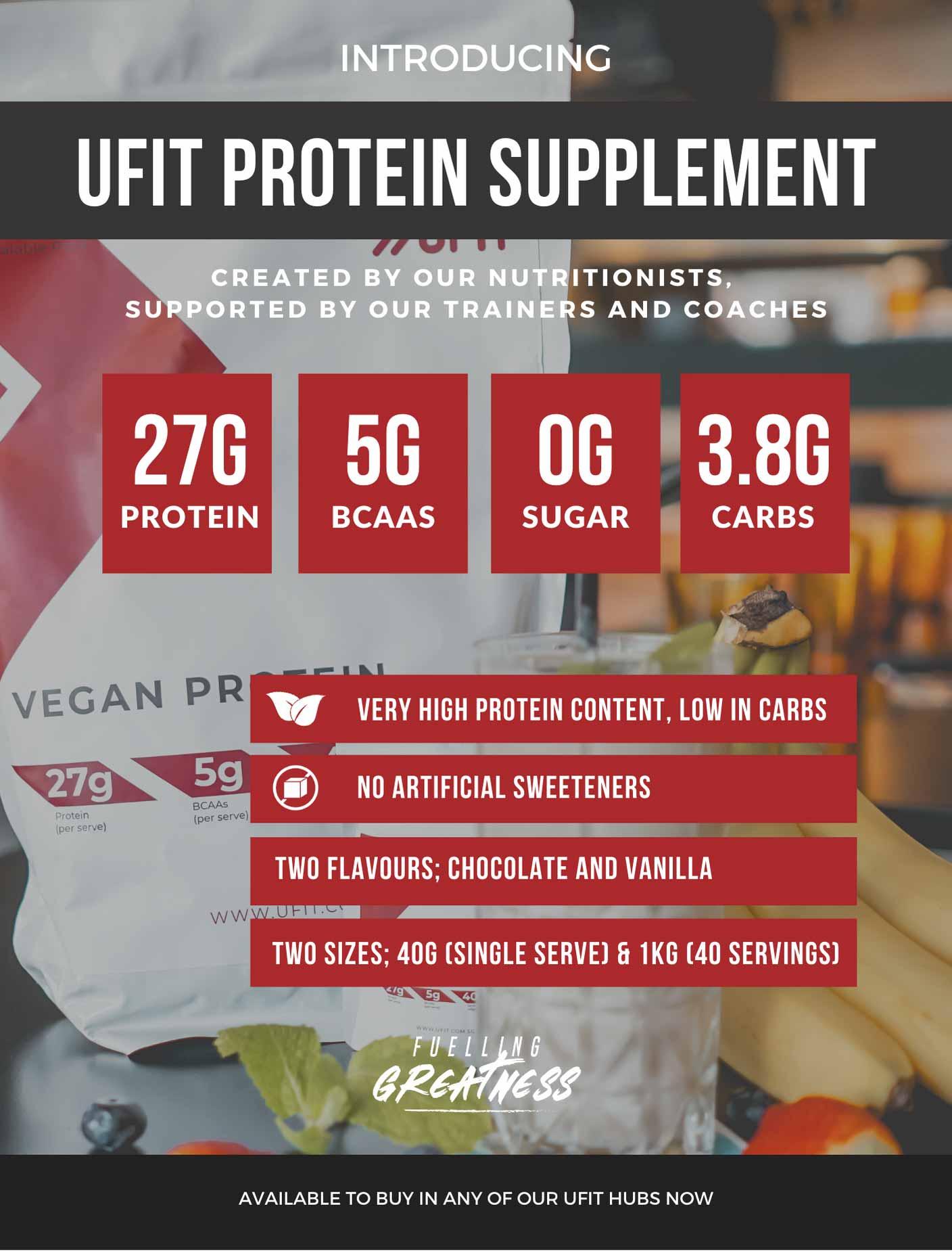 UFIT Protein Powder